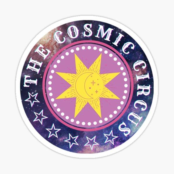 Logo: The Cosmic Circus Sticker