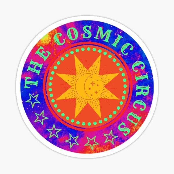 Atomic Logo: The Cosmic Circus Sticker