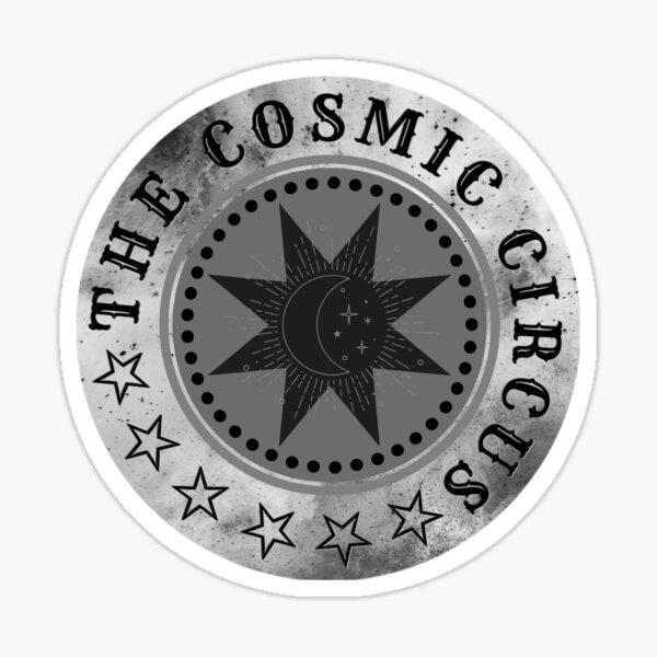 Mono Logo: The Cosmic Circus Sticker