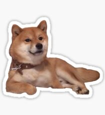 relaxation Shiba Sticker
