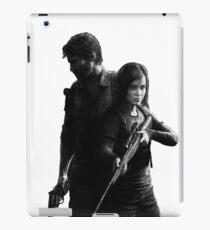 Last of Us remastered no black background iPad Case/Skin