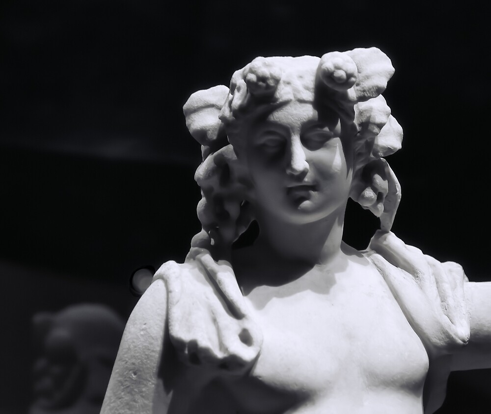 Statue of Dionysus by Catherine Fenner