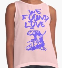We Found Love Contrast Tank