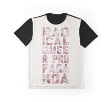 Radical Queer Propaganda (floral) Graphic T-Shirt