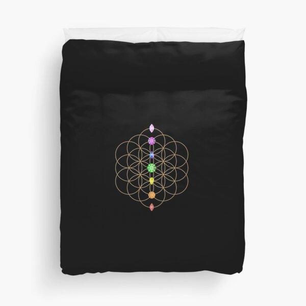 Flower Of Life - Metaphysical Duvet Cover