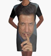 Jeff Goldblum Graphic T-Shirt Dress
