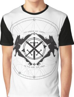 Strength of the Wolf [Black/White] Graphic T-Shirt