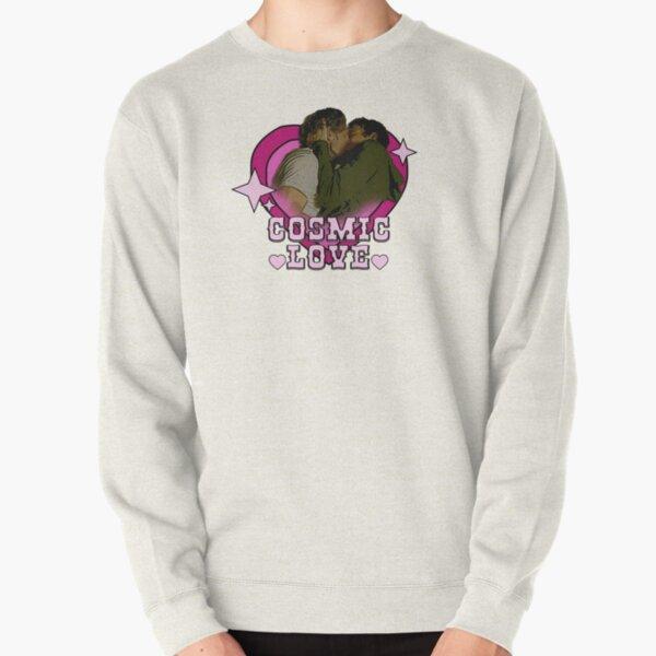 Cosmic love heart malex Pullover Sweatshirt