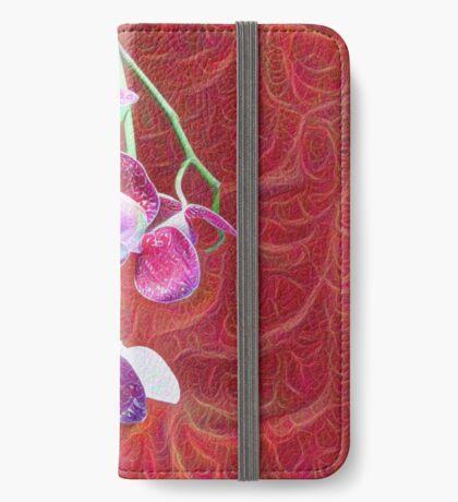 Phalaenopsis B iPhone Wallet