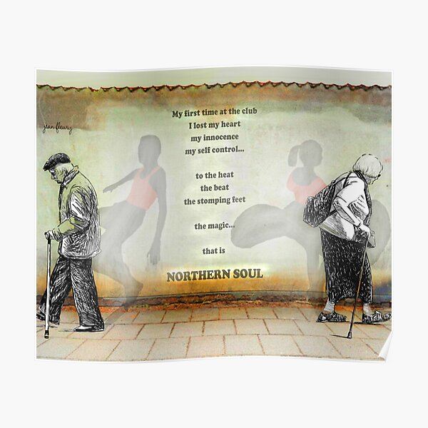 Northern Soul Print Poster Canvas Poster