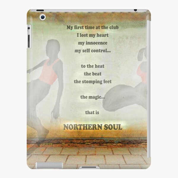 Northern Soul Print Poster Canvas iPad Snap Case