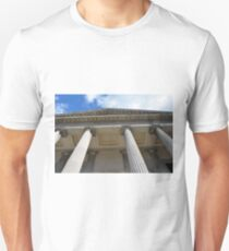 Ionic temple with columns in Genova. T-Shirt