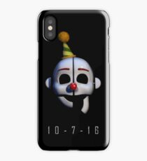 Five Nights at Freddy's - Sister Location Release Date iPhone Case