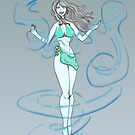 Air Elemental Lady by ToxicMaiden