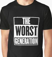 The Worst Generation Graphic T-Shirt