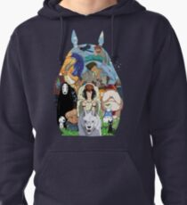 Sudadera con capucha Studio Ghibli
