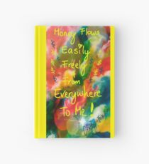 Money Flows Easily Freely and From Everywhere To Me Hardcover Journal