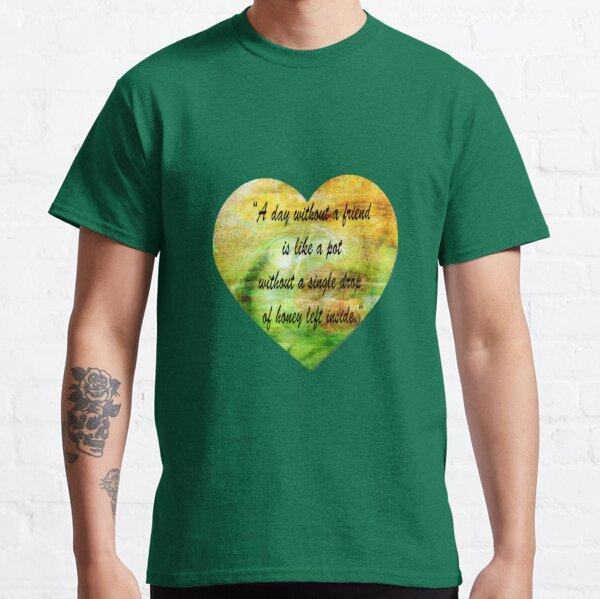 Winnie the Pooh sticks  Classic T-Shirt