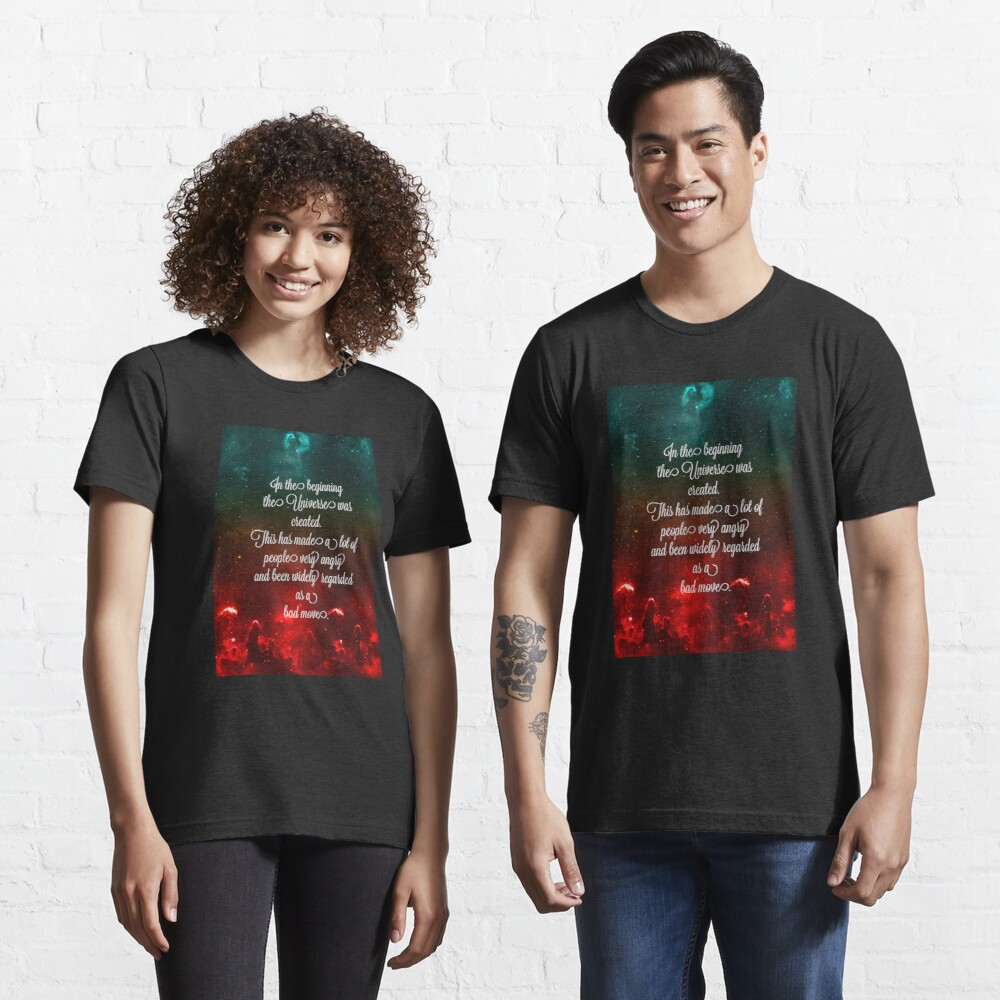 Hitchhiker's Guide Quote Essential T-Shirt