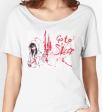 Jeff The Killer: Go To Sleep Women's Relaxed Fit T-Shirt