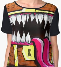 Mimic Chest - Dungeons & Dragons Monster Loot Women's Chiffon Top