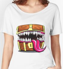 Mimic Chest - Dungeons & Dragons Monster Loot Women's Relaxed Fit T-Shirt