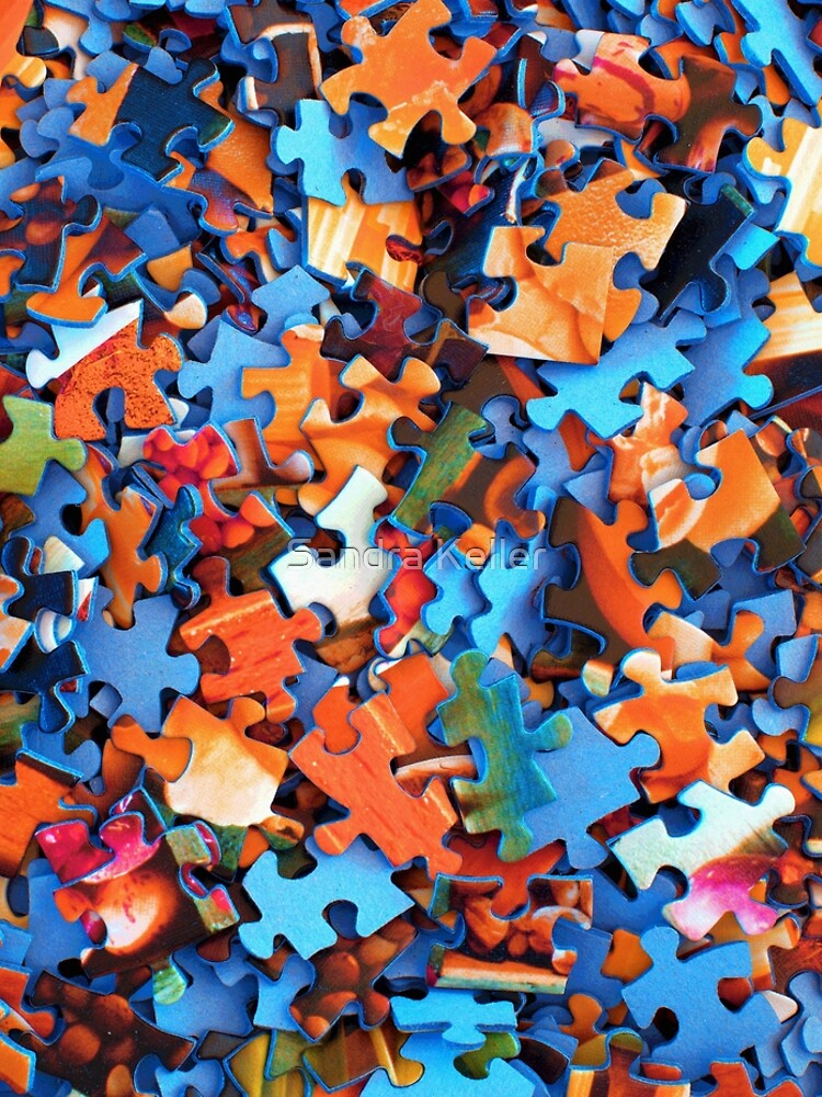 Jigsaw Puzzle Pieces by skc-images