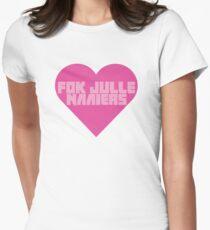 Fok Julle Naaiers Zef Heart Womens Fitted T-Shirt