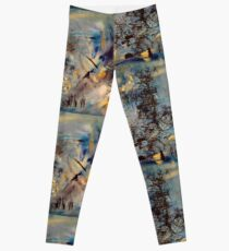 Raw gestures  Leggings