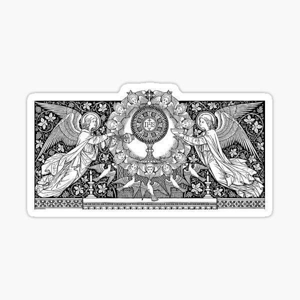 Blessed Sacrament 02 Sticker