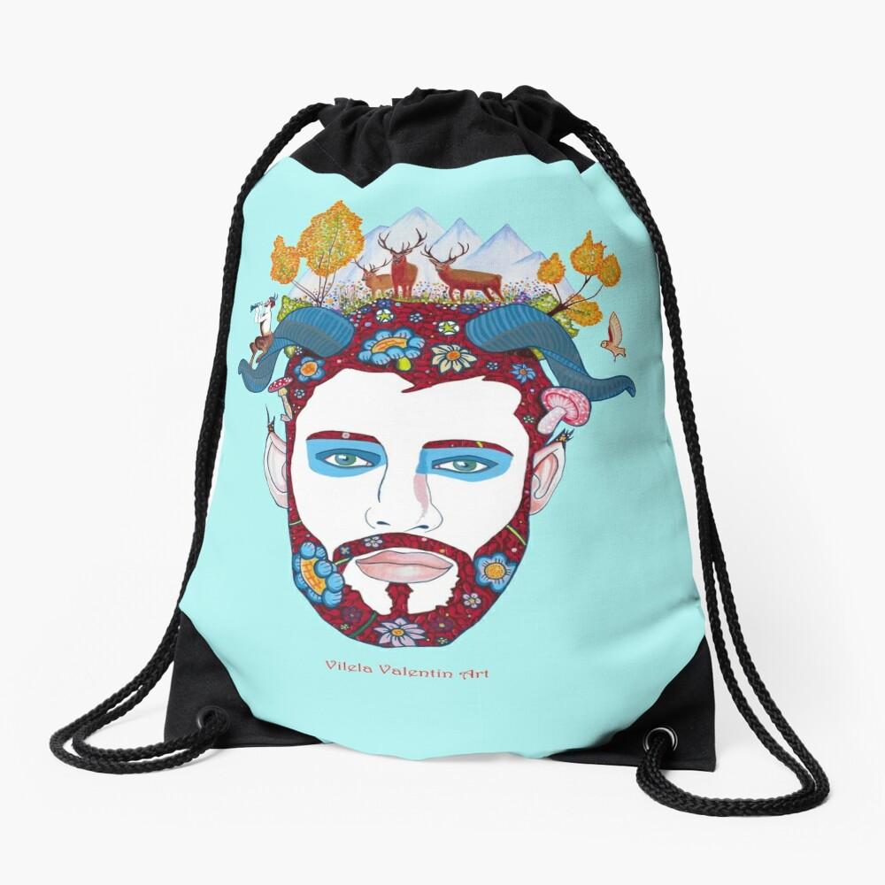 Il Fauno Drawstring Bag