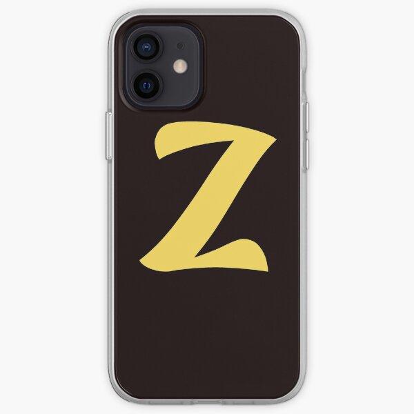 z brand, letter z, zed, z, zoo, zebra, zad, zafar, zidan,  iPhone Soft Case