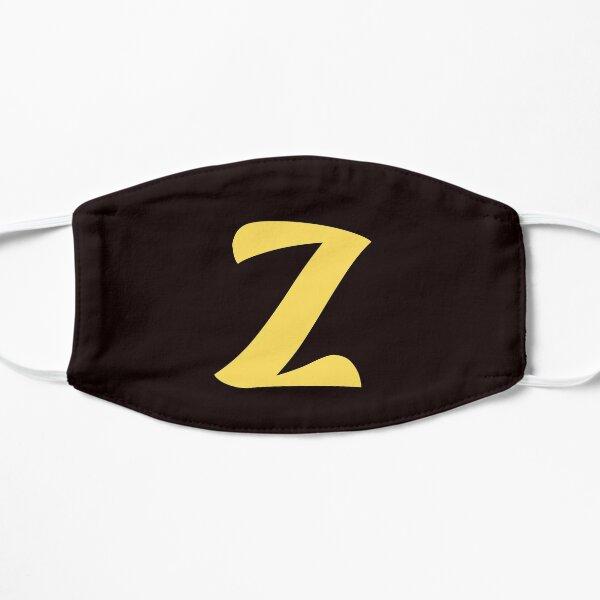 z brand, letter z, zed, z, zoo, zebra, zad, zafar, zidan,  Flat Mask