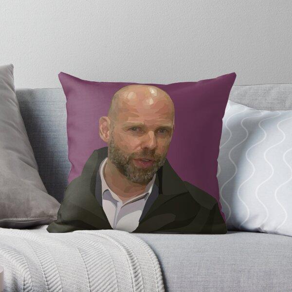 Jeroen Weimar – Victoria's Commander of the Pandemic Response Throw Pillow