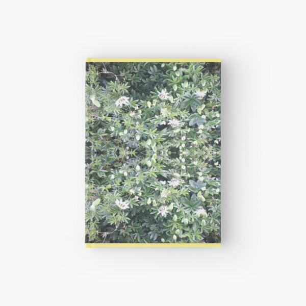 Clematis Fractal 1b - Horizontal - from Flower Photo Hardcover Journal