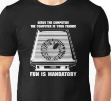 Paranoia computer Unisex T-Shirt