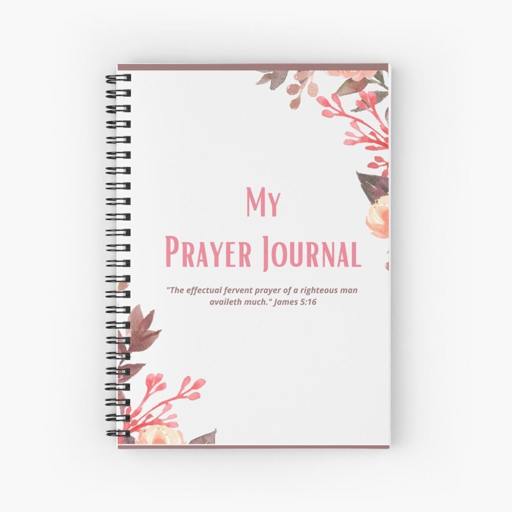 My Prayer Journal  Spiral Notebook