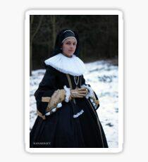 Noble widow cosplay Sticker