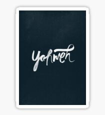 Yahweh Sticker
