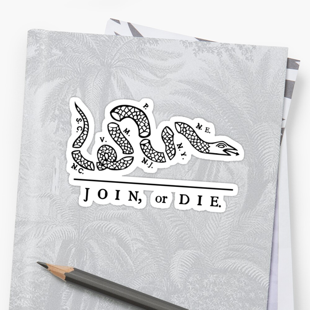 Join or Die, Small Version (see profile for large), United States Military by AnnabelsBelongs