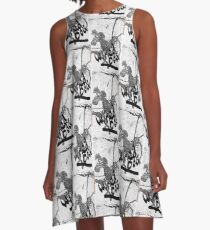 Wired Dog A-Line Dress