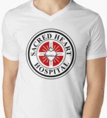 Sacred Heart Hospital Men's V-Neck T-Shirt