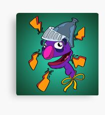 Super Groovy (Super Grover) Canvas Print