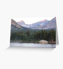 Indian Peaks Greeting Card