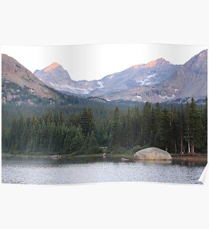 Indian Peaks Poster