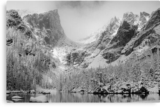 Dream Lake Monochrome by Eric Glaser