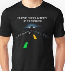 CLOSE ENCOUNTERS OF THE 3° KIND - ROAD LIGHTS Unisex T-Shirt