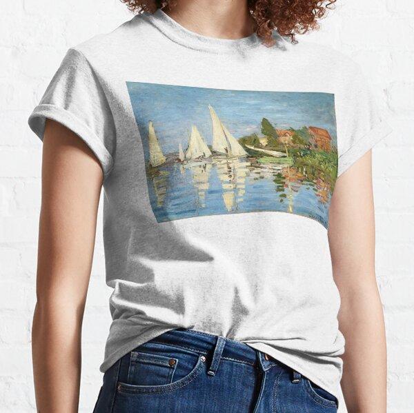 Regattas at Argenteuil - Claude Monet - 1872 Classic T-Shirt