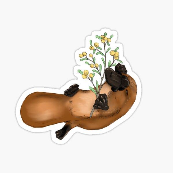 Australian platypus Sticker