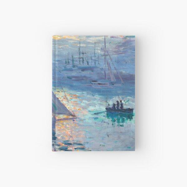 Sunrise - Marine - Claude Monet - 1873 Hardcover Journal